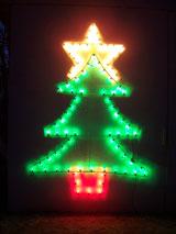 christmas tree lighting fixture